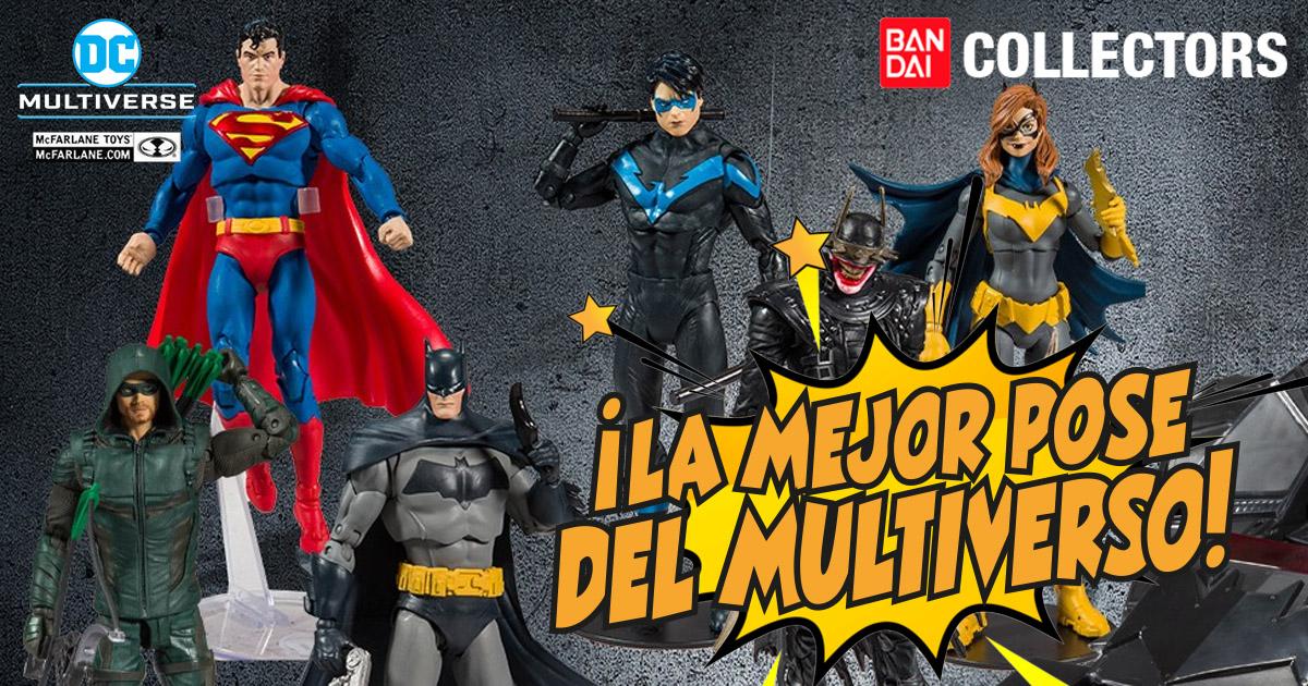 Bandai, Bandai México, Bandai Collectors, McFarlane, DC Multiverse, DC Comics, DC multiverso, DC, figuras DC, Figuras dc multiverse, figuras dc comics, figuras mcfarlane dc, figuras mcfarlane dc comics, figuras de colección dc, figuras coleccionables dc, universo dc, multiverso dc, batman, Superman, hellbat, Superman unchained, batman que rie, batman who laughs, batman comic, batman animado, batman versión comic, batimovil, coleccionista dc, collector, personajes de dc