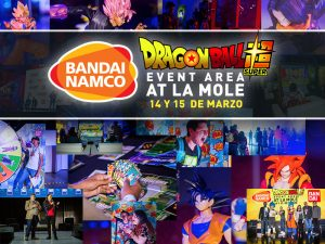 Bandai, Bandai México, Bandai Collectors, Dragon Ball,Dragon Ball Experience, Dragon Ball en La Mole, Lamole dragón ball, La Mole evento dragón ball Dragon Ball Z, Kakaroto, Super saiyan, Saiyajin, Saiyan, Banpresto, 9 de mayo, super saiyan god,