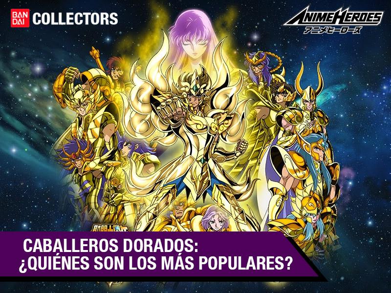 ¿Cuáles son los caballeros dorados más populares? Conoce el ranking creado por los fans de Bandai