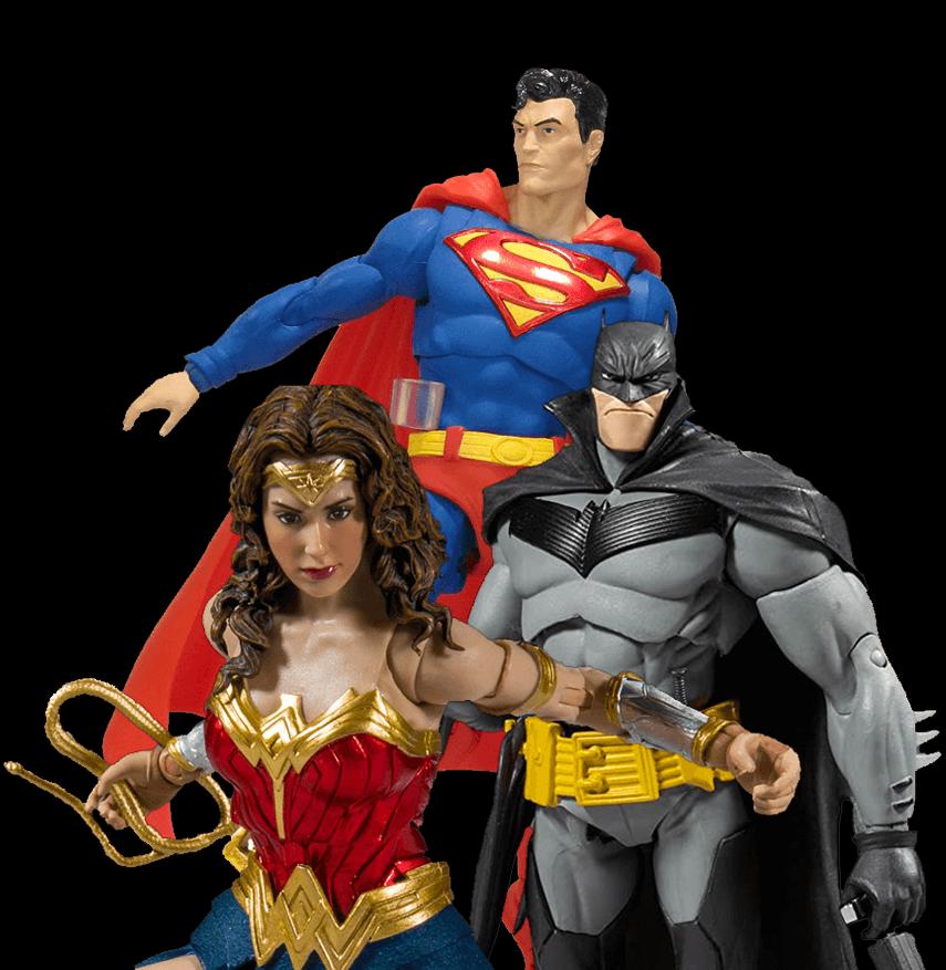 Bandai, Bandai México, Mc Farlane Toys, mcfarlan, mc farlan, Dc multiverse, DC Comics, colección dc, figuras dc, linea dc multiverse, multiverse mcfarlane, todd mcfarlane, batman, Superman, batman metals, batman dark knight, black knight, batman animated series, batman detective comics 1000,
