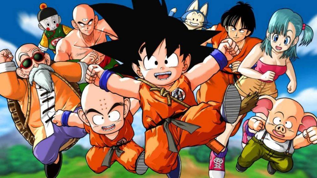Goku, goku inicio, goku fan, dragon ball inicio,