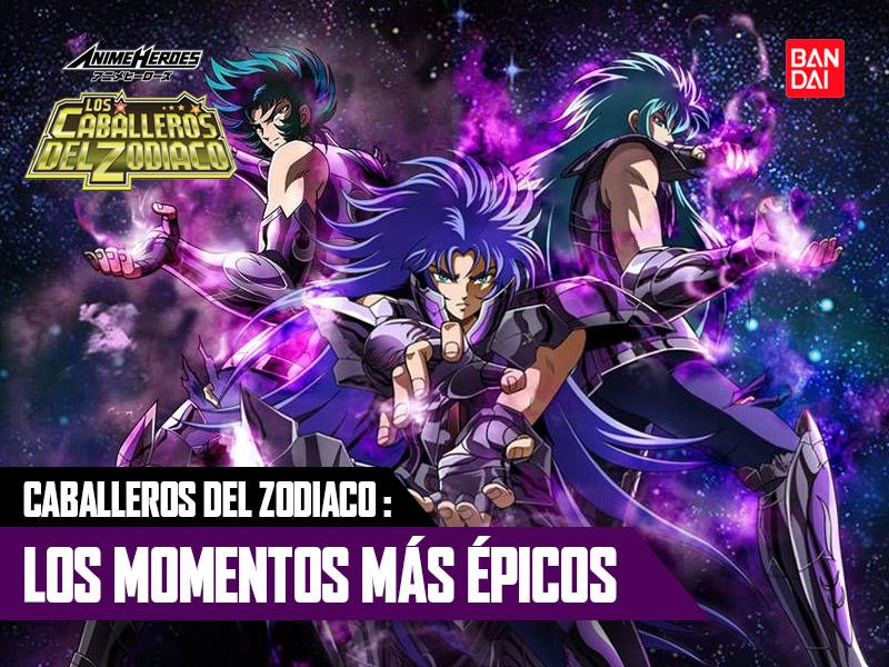 Top 6 Momentos Más Épicos de Los Caballeros del Zodiaco