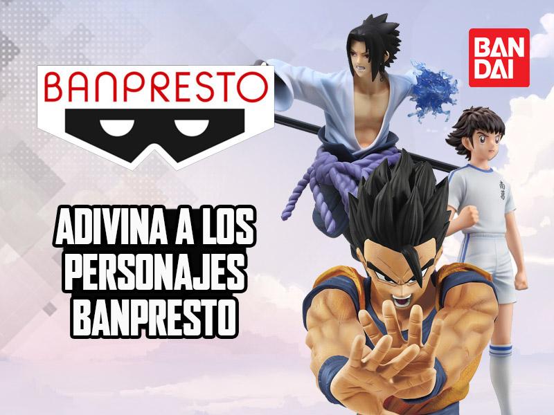 Adivina a los personajes Banpresto