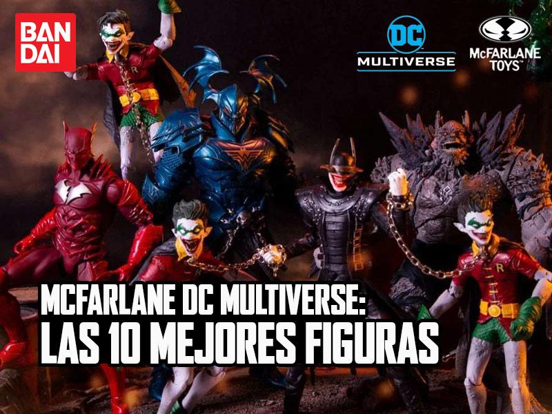 Las 10 figuras de McFarlane DC que no deben faltar en tu colección