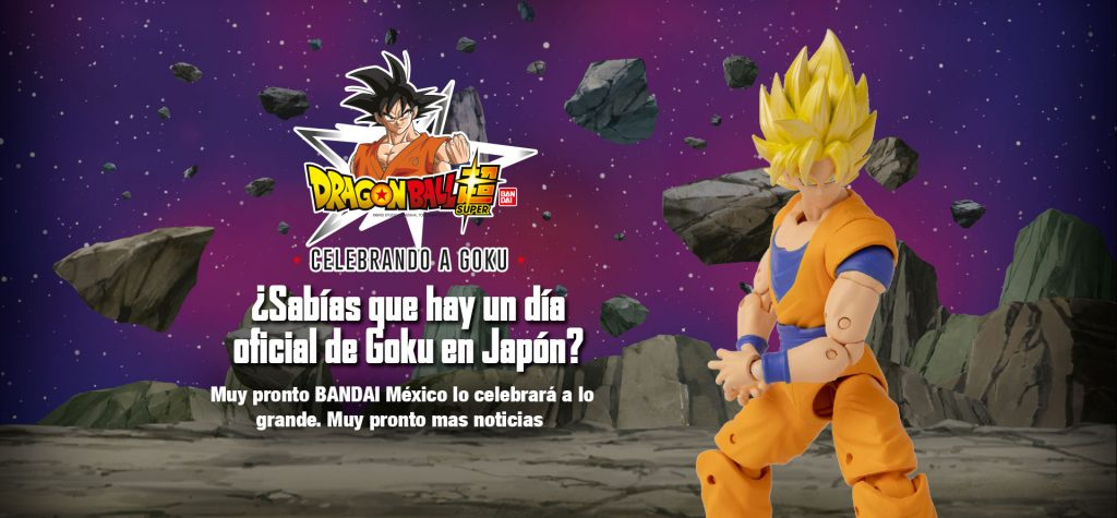 9 de mayo, Pack Especial Banpresto, Banpresto Week, Goku Day, dia de goku, figuras de goku, Bandai Shop