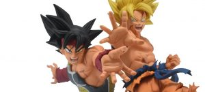 Drawn by toyotaro, Banpresto, drawn by toyotaro, figura de goku, figura de bardock, figuras de goku y bardock, banpresto goku y bardock, son goku banpresto, bardock banpresto, figuras banpresto,