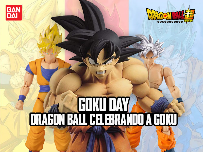 Goku Day – Dragon Ball Celebrando a Goku
