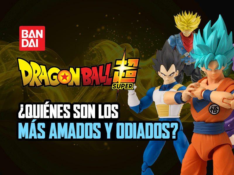 Top 5 personajes más amados y odiados de Dragon Ball