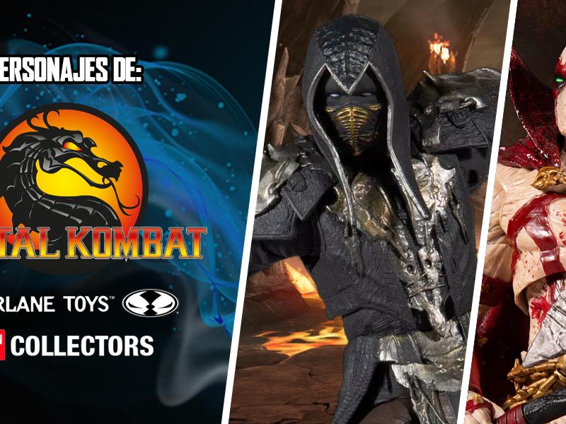 Descubre a los personajes Mortal Kombat de McFarlane