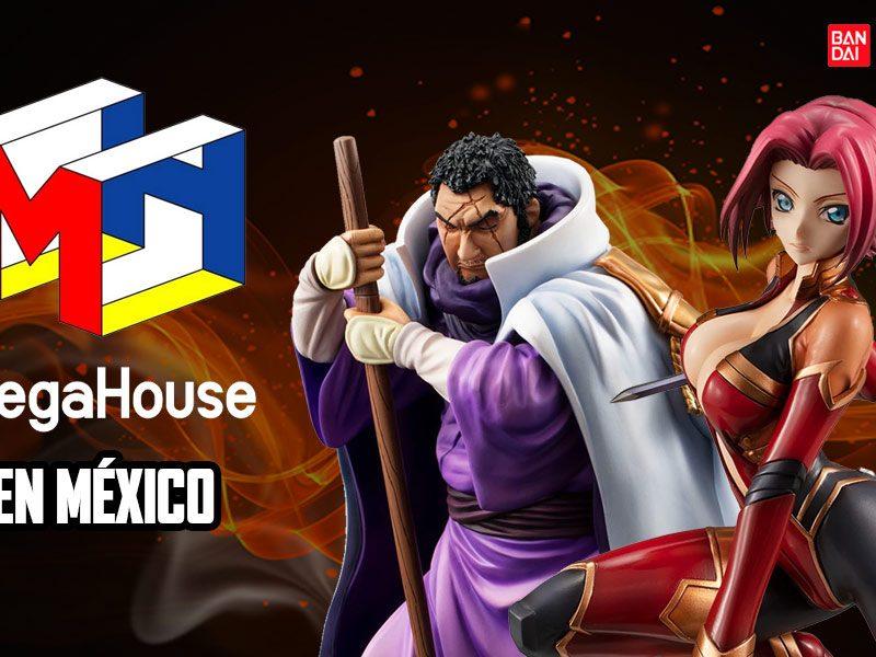 Megahouse en México, el Tío Bandai le da la bienvenida
